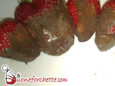 Fragoloni al cioccolato