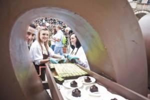 Un nuovo Chocostore by Eurochocolate per Verona